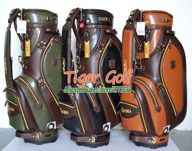 New HONMA Golf bags High quality PU Golf staff bags with 3 colors 9.5 inches Golf cart bag Free shipping(China (Mainland))