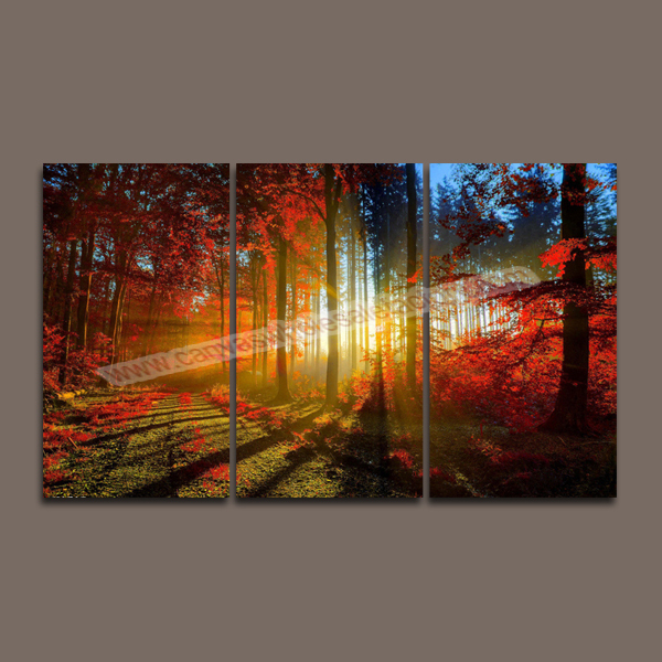 hot unframed wall art canvas painting 3 piece canvas art