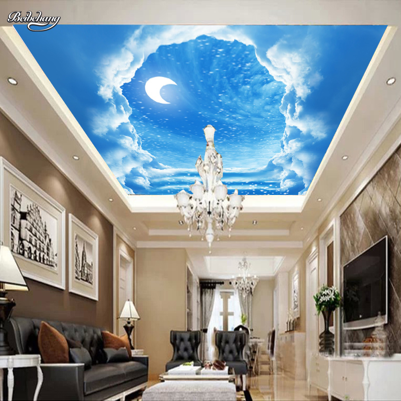 Popular blue moon wallpapers buy cheap blue moon for Blue moon mural