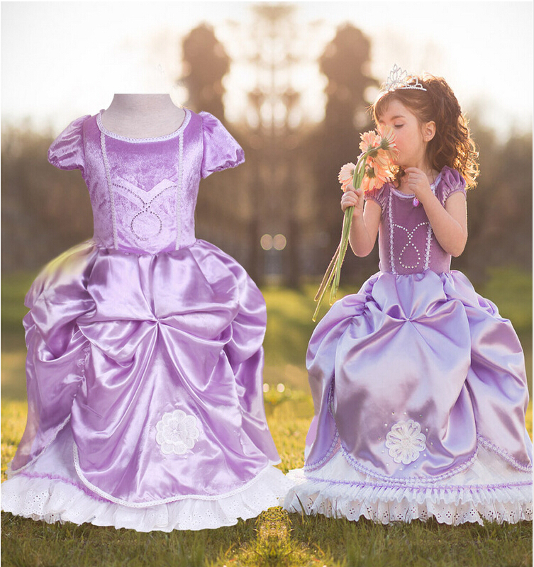 Girl Purple Cinderella