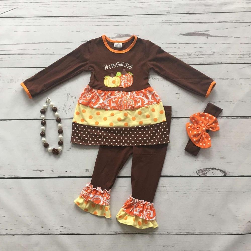 Aliexpress Buy baby girls Thanksgiving clothing