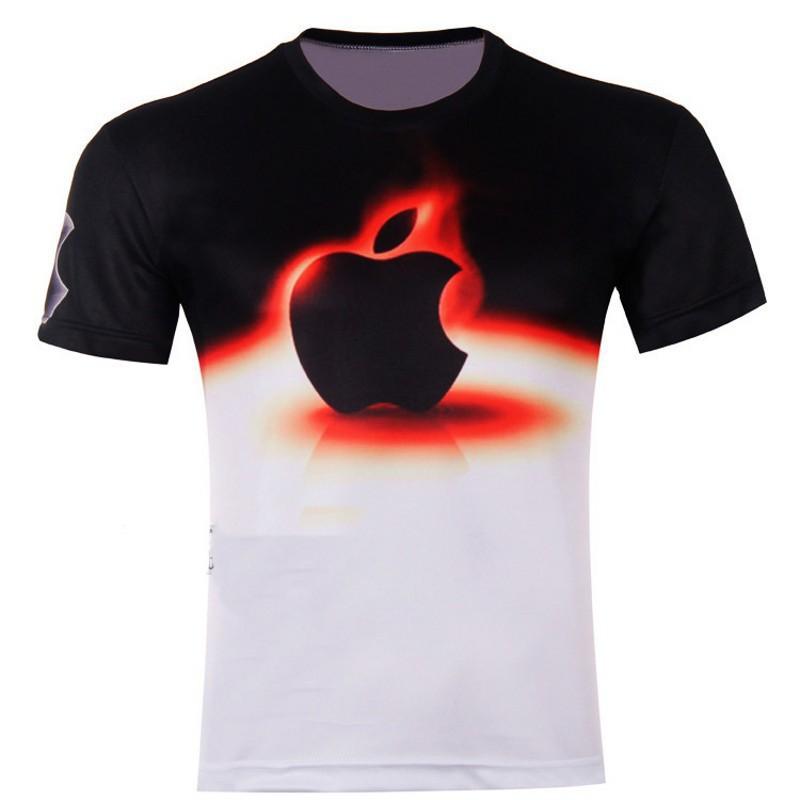 New Fashion Men T-Shirt High Quality 3d t Shirt Animal/cartoon 3d Printed Short Sleeve T Shirt Tops Tees men T-shirt M-4XL(China (Mainland))