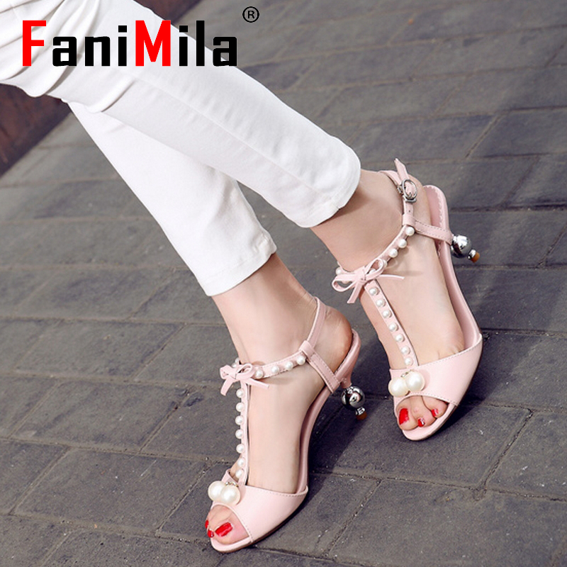 women real genuine leather stiletto bowtie party ankle strap high heel sandals sexy fashion brand ladies shoes size 34-39 R6632<br><br>Aliexpress