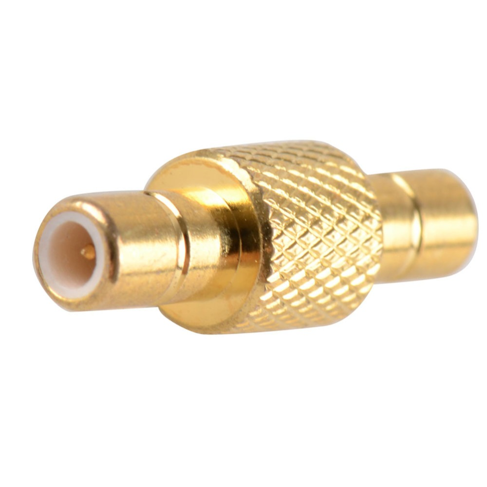 2016 High Quality Adapter SMB Male To SMB Male Plug RF Connector Straight Brass Gold Plating VC728 P0.41(China (Mainland))