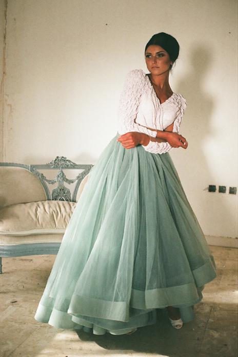 Saudi Arabia Dubai Middle East 2016 V-Neck Beading Ruched A-Line Evening Dress Elegant Long Sleeve Dresses - SOPHOENIYA Wedding Factory store