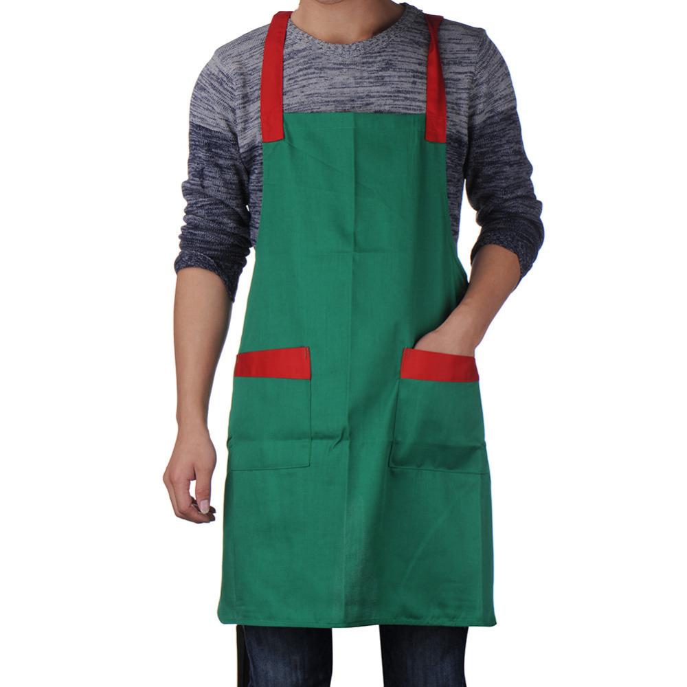 1pcs Korean Fashion Waiter Waitress Apron Restaurant Bar Kitchen Apron Sleeveless For Women/Men 5 Colors(China (Mainland))
