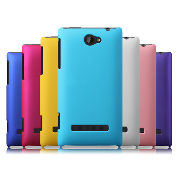 Free Shipping!! Hight Quality Frosted Colorful Rubber Matte Hard Back Case Cover for HTC 8S A620e, HCC-008