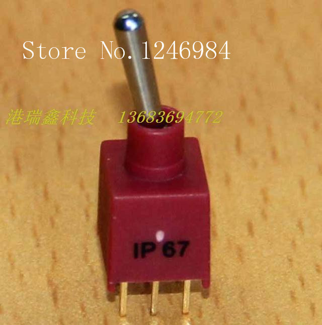 [SA]ES-5C -pin dual six feet two tranches M5.08 small toggle switch 2AD1 Deli Wei waterproof Q22--50pcs/lot<br><br>Aliexpress
