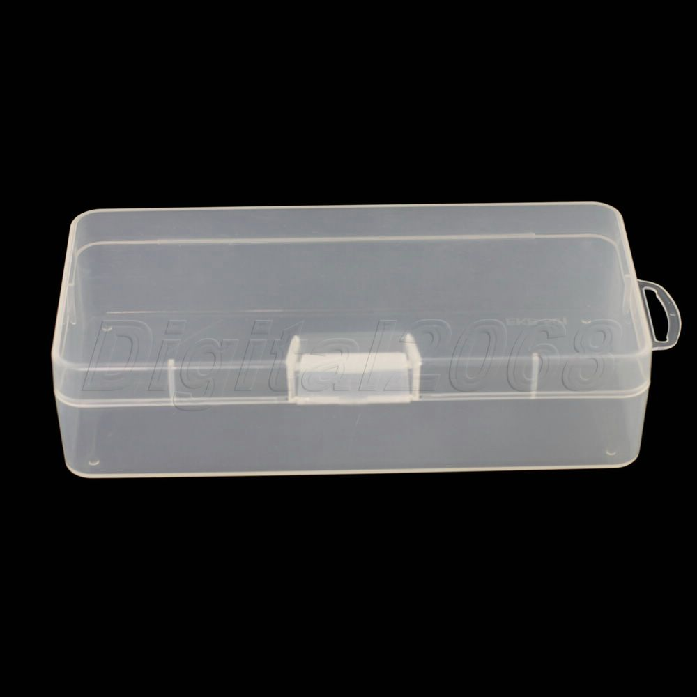 Best Selling Plastic Clear Transparent Storage Container Box Case for Storing Reloads Hot Sale Size: 18 x 8.5 x 4.5cm.(China (Mainland))