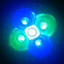 10W E27 E14 GU10 LED Aquarium Light, 2 Blue & 1 White & 2 Green For Fish Tank Lighting Aquatic Plants And Corals Lights(China (Mainland))