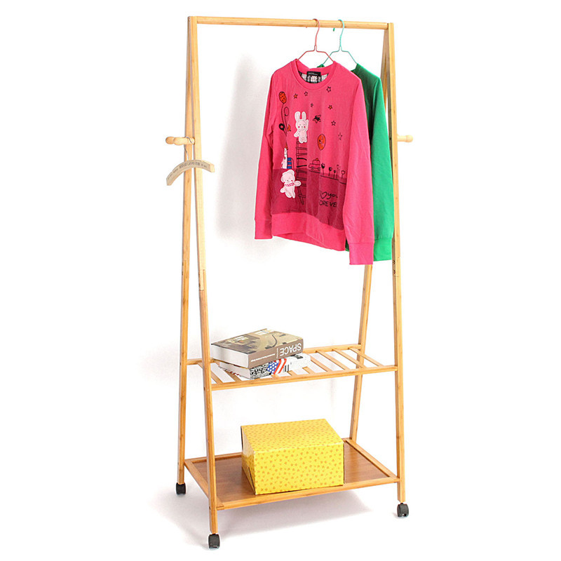 Different Quality Coatrack Ground Simple Solid Wooden Hangers Hanging Clothes Bedroom Fashion Clothes Rack(China (Mainland))