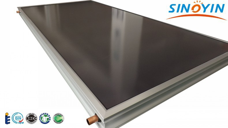 solar collectors flat panel solar collectors with SRCC Solar keymark(China (Mainland))