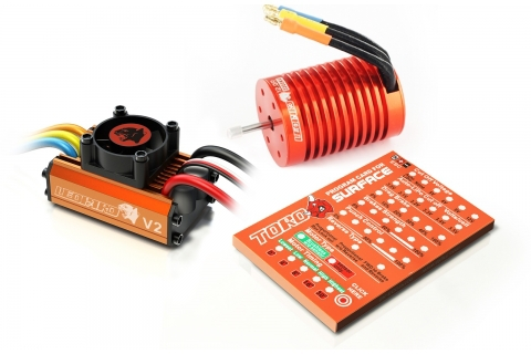 Skyrc Leopard 3300KV/12T/2P Brushless Motor + Leopard 60A ESC + Program Card Combo Set For 1/10 Car(China (Mainland))