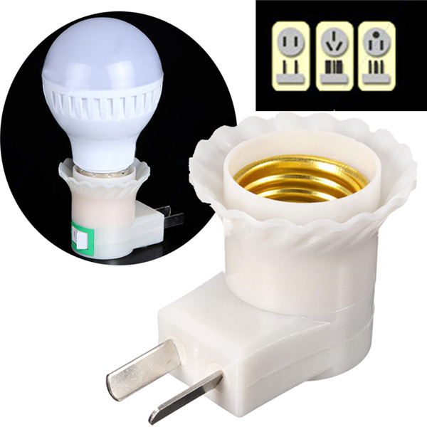 220v led light lamp bulb holder socket adapter converter us au plug. Black Bedroom Furniture Sets. Home Design Ideas