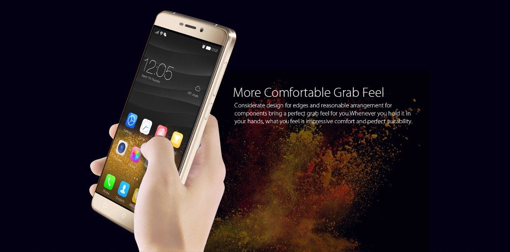 """Blackview R7 5.5"""" 4G LTE Mobile Phone Android 6.0 MTK6755 Octa Core 4GB+32GB Cellphone 13MP Touch ID Smartphone NFC OTG Phone"""