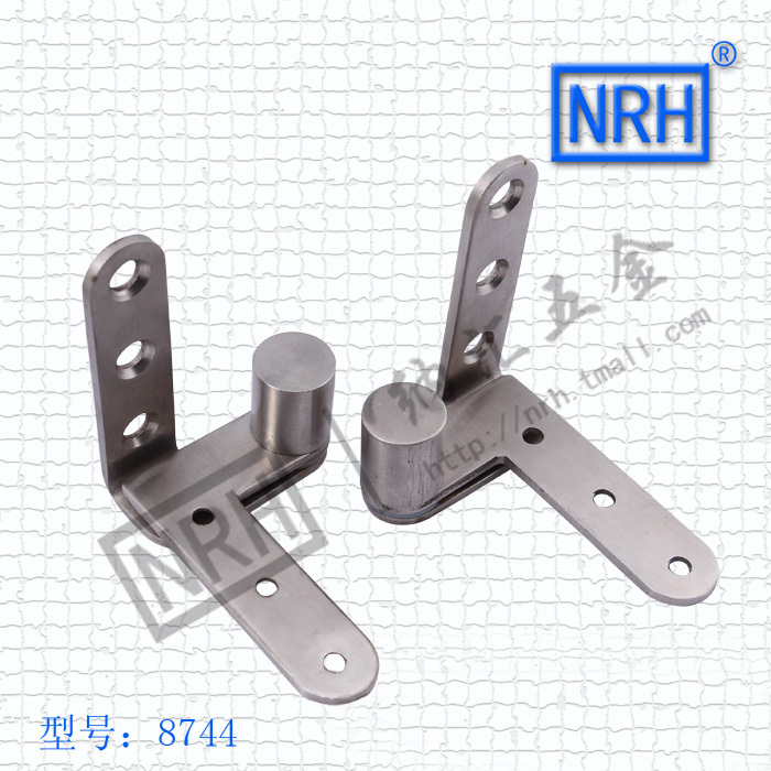 The new 8744 stainless steel non ordinary type Furniture hinge shaft NRH Hardware world piano hinge 2pcs/lot(China (Mainland))