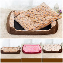 2016 new fashion 3 colors option Pet Mat washable cat kennel small and large dog bed pet nest dog mat XS S M L XL XXL dog bed