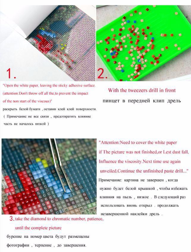 Garfield 30x20cm New 100% Full Area Highlight Diamond Needlework Diy ...