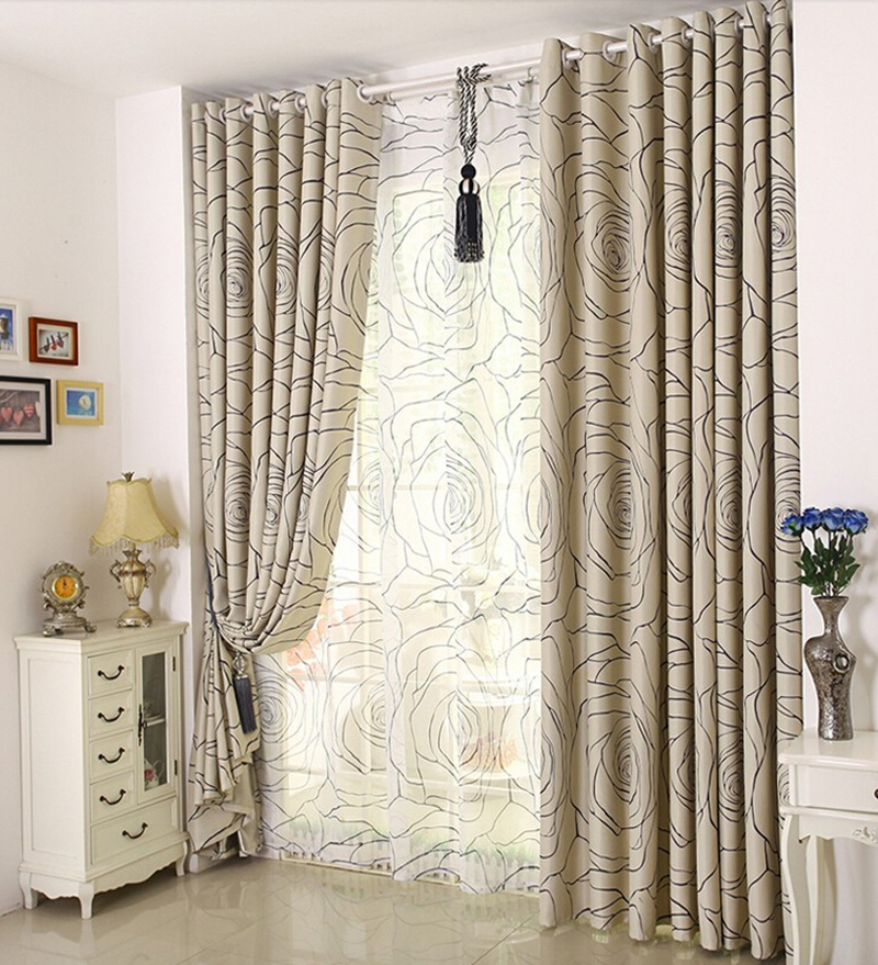 High quality bedroom curtain modern curtain living room for Modern curtains for living room 2014