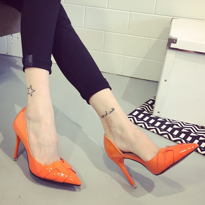 Size 34-39 4 COlours High Heel Women Shoes Elegant Girls Fashion Footwears Point Toe Party Pumps 2016 Lady Shoes V014<br><br>Aliexpress