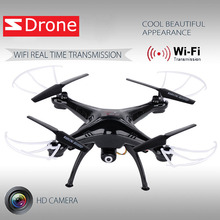 Symm X5SW Black Quadcopter Drone with HD Camera 6-Axis Gyro 2.4G 4CH Real-time Images Return RC FPV Plane WIFI