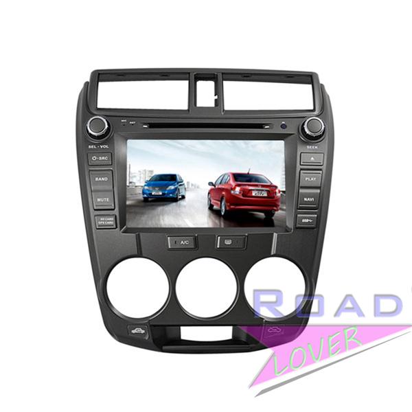 8inch Car PC DVD Player for Honda CITY 2012 GPS Navigation Audio Stereos Video Radio RDS Ipod Bluetooth TV USB Media MP4 FA AM(China (Mainland))
