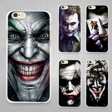 Buy serious joker Hard White Cell Phone Case Cover Apple iPhone 4 4s 5 SE 5s 6 6s 7 Plus for $1.49 in AliExpress store