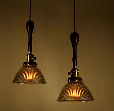 Фотография Retro Loft Style Vintage Industrial Pendant Light Hanging Lamp For Bar Home Living Lightings,Lamparas Colgantes