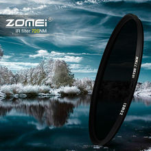 zomei  IR 72 720 nm IR72 INFRARED FILTER for DSLR SLR camera lens 52mm 58mm 72mm 77mm