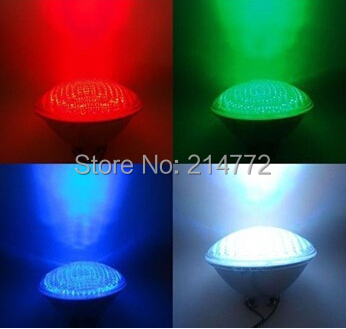 Фотография DC12V 40Watts RGB PAR56 High Power LED Swimming Pool Light Underwater Light