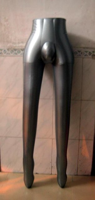 Female leg inflatable mannequin + free pump offer inflatable legs male mannequin HKfree shipping