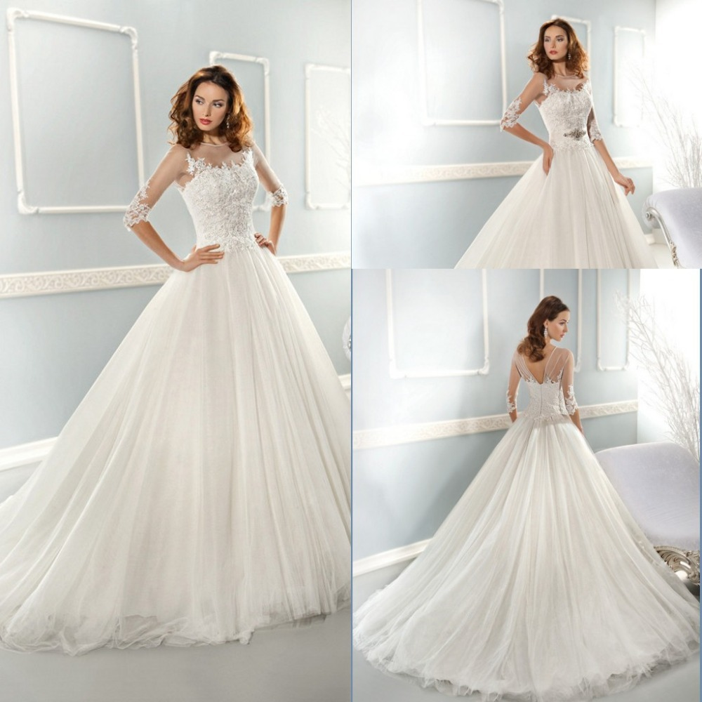 New arrival long white country western wedding dresses for Country western wedding dresses