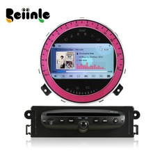 Beiinle  Car 2 Din for BMW Mini Cooper  Head Unit Radio Stereo DVD GPS Navigation Player(China (Mainland))
