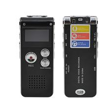 Black 8GB Mini USB Flash Pen Disk Drive Telephone Digital Voice Activated Audio Recorder MP3 Player Dictaphone gravador de voz(China (Mainland))