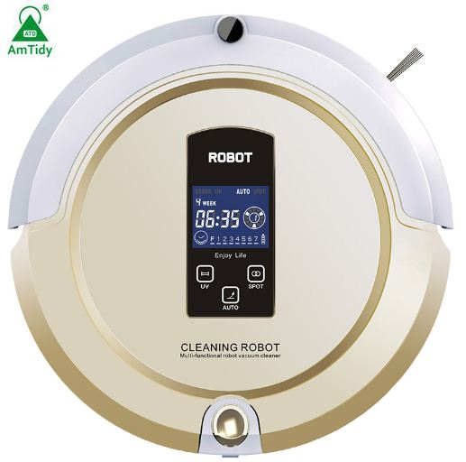 Robot Cleaner Intelligent Robot Vacuum Cleaner Self-Charging&Side Brush for Home,Remote Control, Aspirateur Robot Amtidy A325(China (Mainland))