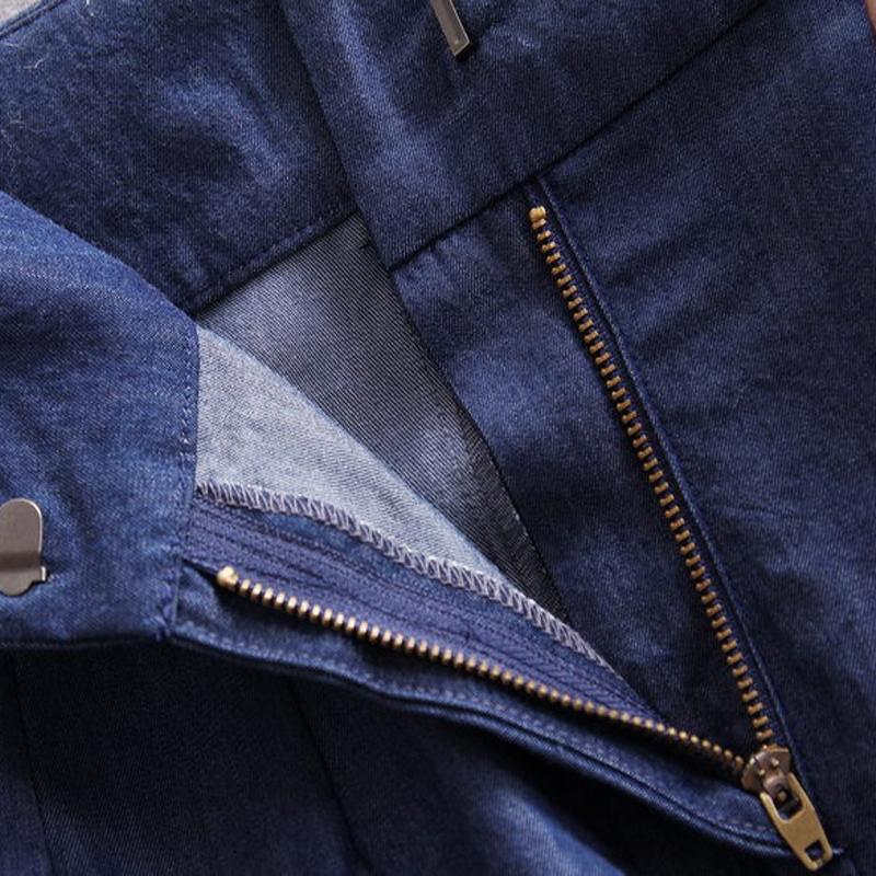 2016 Spring Brand Women Pant Suit Ladies Denim Pants Suits 2 Piece Set Women Cowboy Patchwork