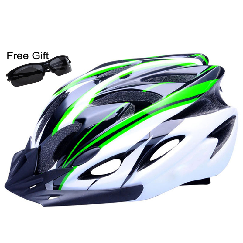 Ultralight Bicycle Helmet CE Certification Cycling Helmet In-mold Bike Helmet Casco Ciclismo 260g 56-62 CM(China (Mainland))