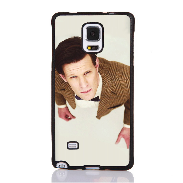 Matt Smith Doctor Dr Who Printed On Soft Rubber Mobile Phone Case For Samsung S4 S5 S6 S7edge Note 3 Note 4 Note 5 Cover Shell(China (Mainland))