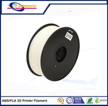 1.75mm White ABS 3D Printer Filament – 1kg Spool (2.2 lbs)