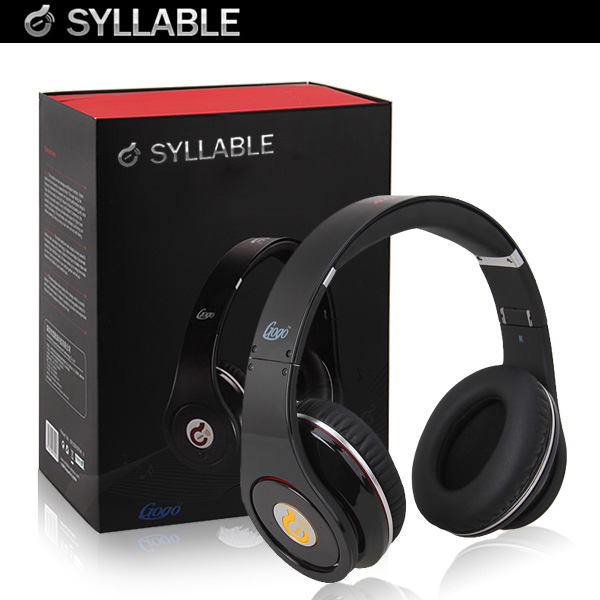 Syllable G04 Noise Reduction Cancellation DJ Headphones Hifi Stereo Foldable Wired Headset for iPhone iPod MP3 Blackberry(China (Mainland))