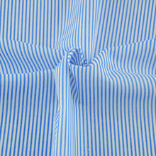 Sewing Tecido 100% Cotton Fabric Home Textile Patchwork Scrapbooking Decoration Dark Blue and White Stripes Designs Fat Quarter(China (Mainland))