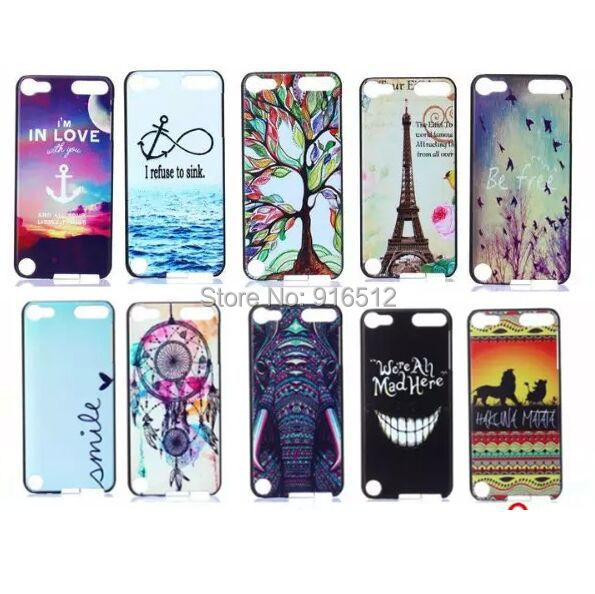 Fashion New Dream Catcher Flag Superman Beer Tribal Vintage Plastic Case for iPod Touch 5(China (Mainland))