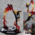 Anime One Piece Cool 6 8 One Piece Black Leg Sanji Fire Battle Version Boxed PVC