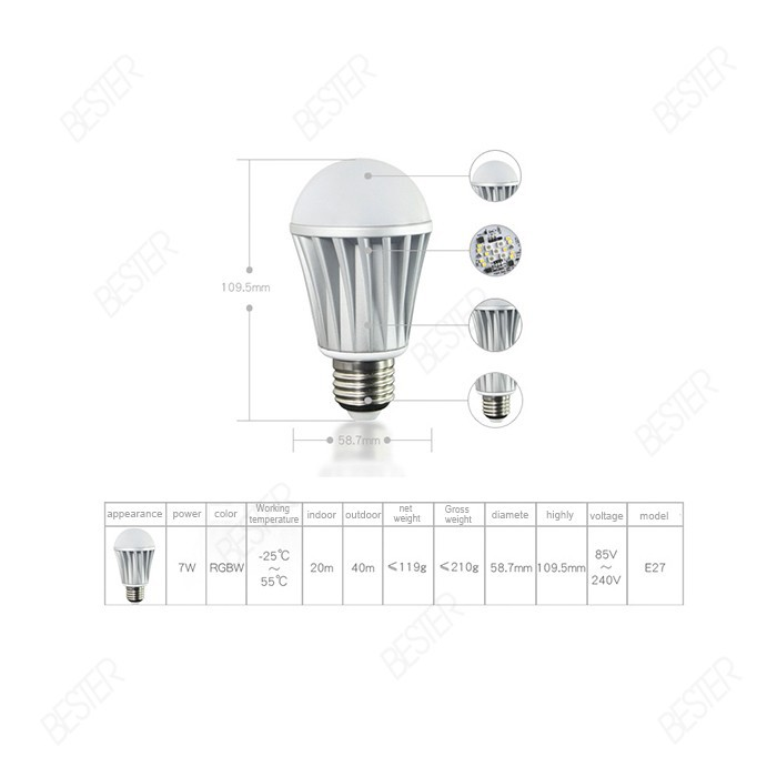 bluetooth smart light lamp 5
