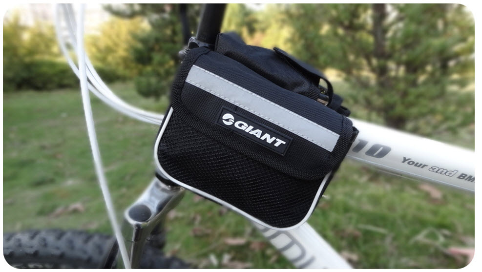 Outdoor Cycling Bike Black Bicycle Frame Pannier Front Tube Saddle Bag Whole sale /Drop shopping 2013 Hot sale[D2060] - Anne's lou store