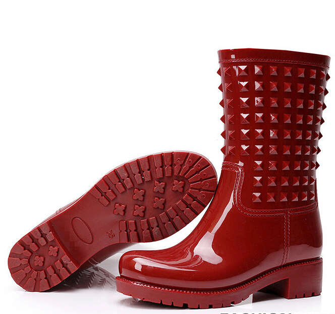 Popular Peacock Rain Boots-Buy Cheap Peacock Rain Boots lots from ...