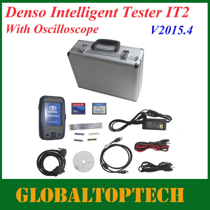 DHL Free!2015.4 Version Professional Car Scan tool TOYOTA DENSO Intelligent Tester 2 for Lexus/Suzuki/Toyota TOYOTA IT2 tester2(China (Mainland))