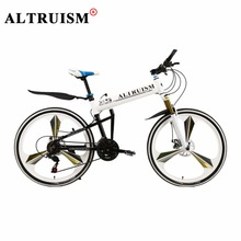 """Buy Altruism X5 Pro 21 Speed 26"""" Downhill Mountain Road Bike Complete Double Brake One Wheel Full Shocking Proof Mountain Bicycle for $265.18 in AliExpress store"""