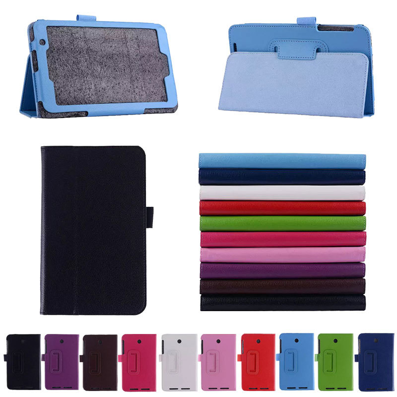 Colorful Stylish Folio PU Leather Stand Case Cover ASUS MeMO Pad 7 ME176 Inch Tablet - Shenzhen ShunXinDa Trading Co., Ltd. store