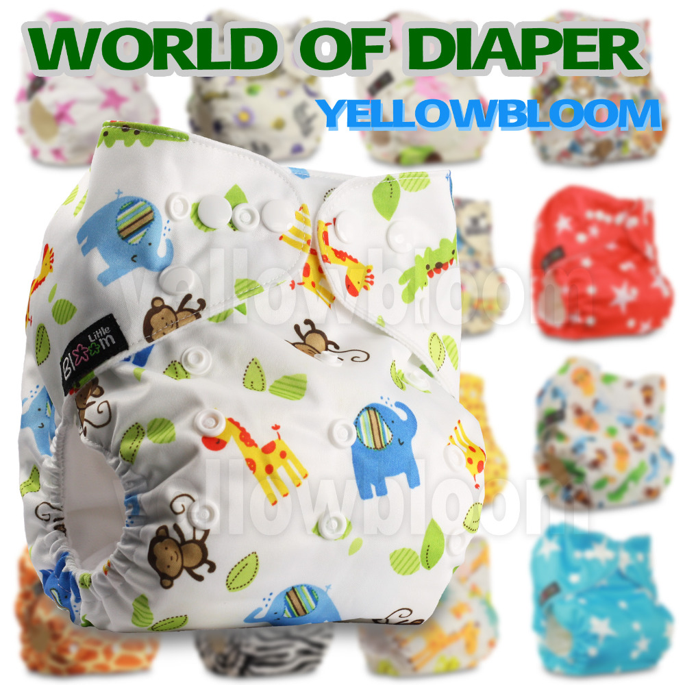 Baby Washable One Size Cloth Nappy Reusable Pocket Diaper Inserts Available Suit 0-3 years 3-15kg One Size(China (Mainland))